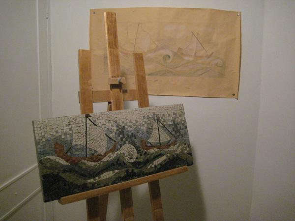 Ks mosaici for Arredo barche