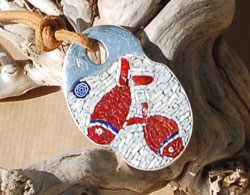 Ks mosaici for Pesci rossi prezzo